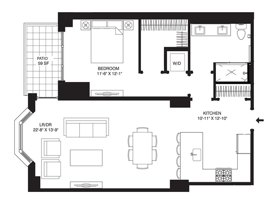 Residence G08 Floor Plan