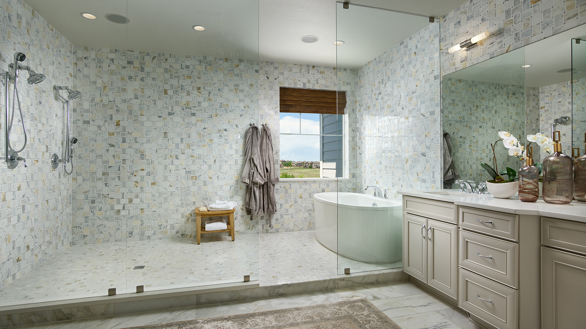 vista point at southshore the orion home design rh tollbrothers com bathroom 1920s 1920s bathroom tile
