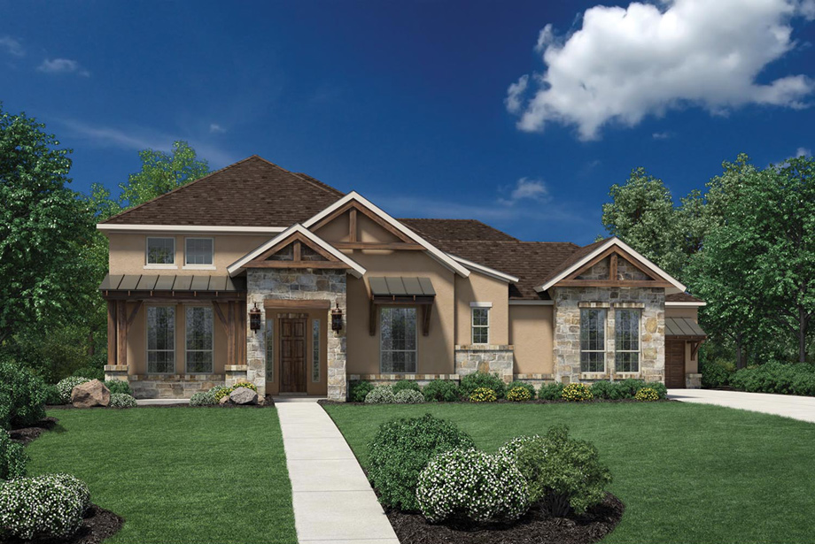 Cinco Ranch Ironwood Estates The Palazzo Home Design