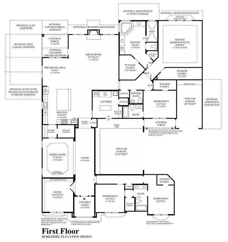 Palazzo - Floor Plan