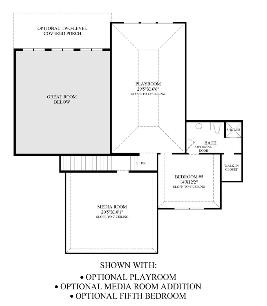 Palazzo Floor Plan