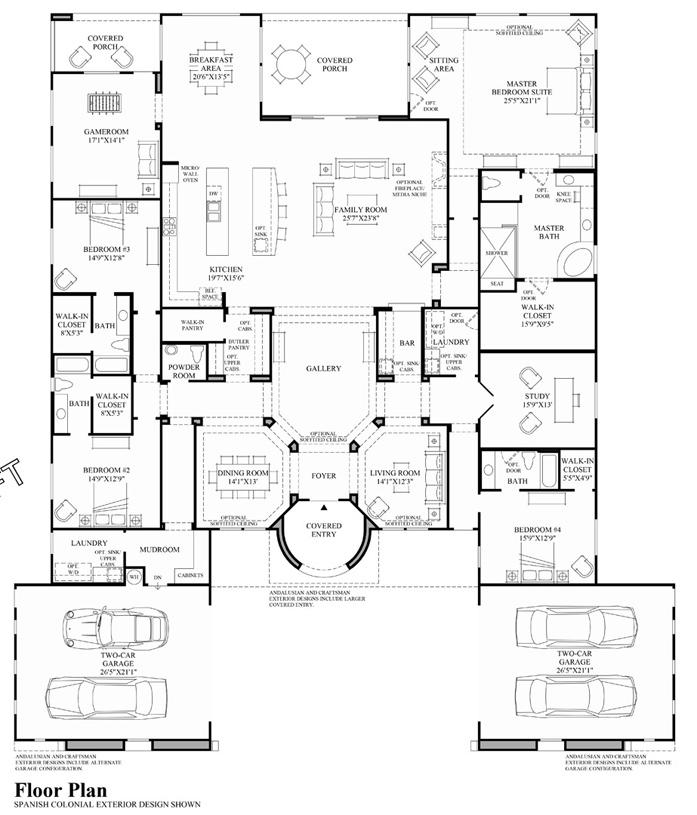 Superior View Floor Plans