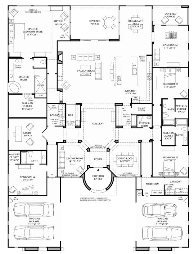 Venado on Floor Plan Toll Brothers Scottsdale