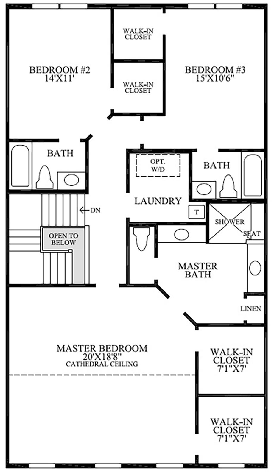 Additional Bath Floor Plan