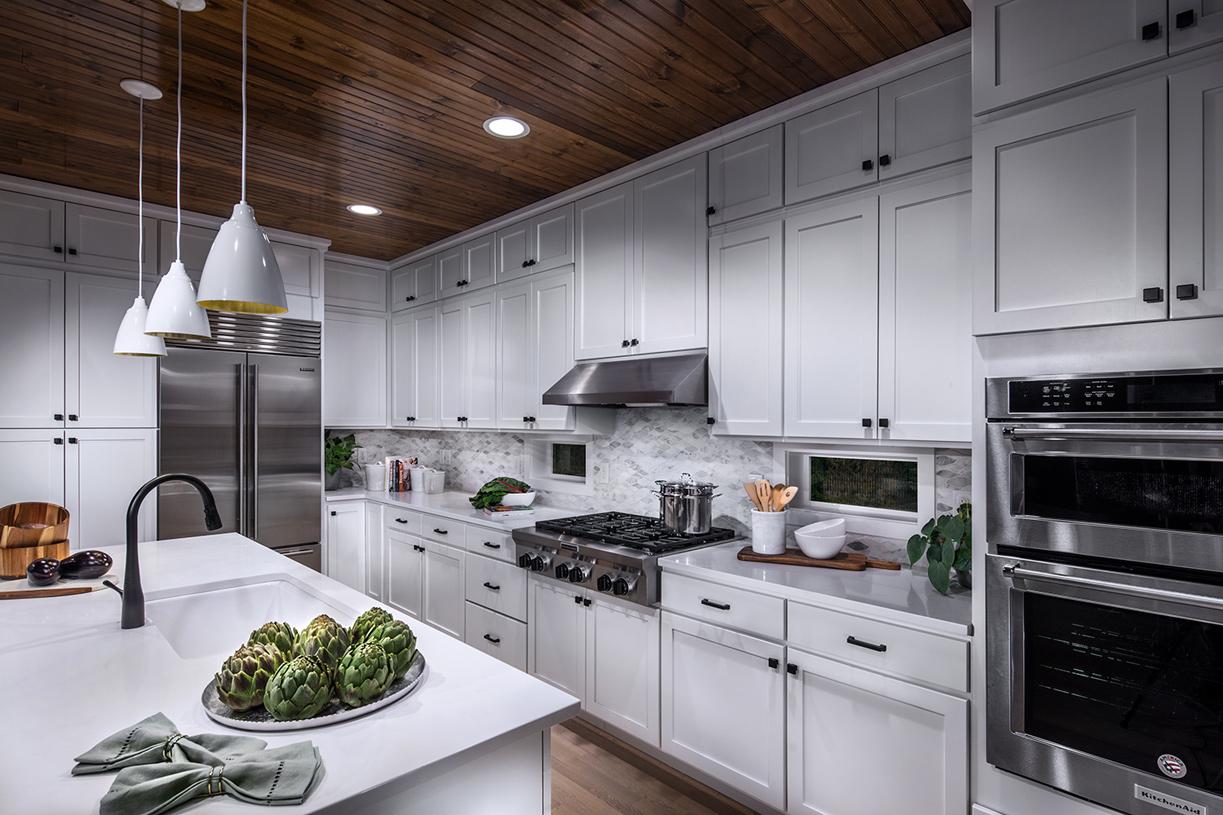 Well-designed kitchen provides plenty of storage