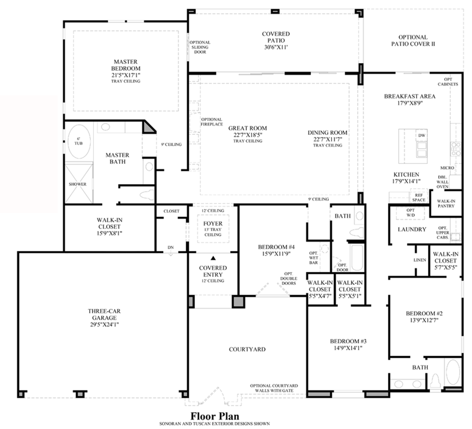 Design Your Own Home Toll Brothers: The Pembroke Home Design