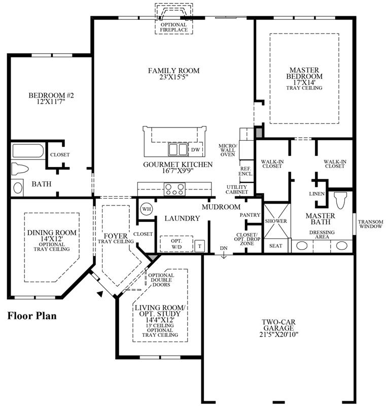 Pennridge - Floor Plan