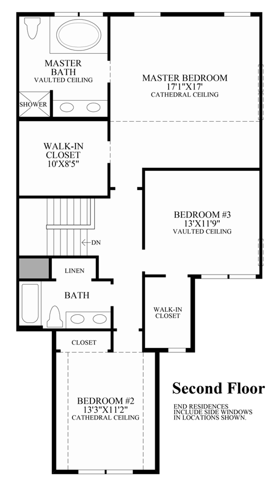 Enclave at pleasantville the pentwater home design 2nd floor loft ideas