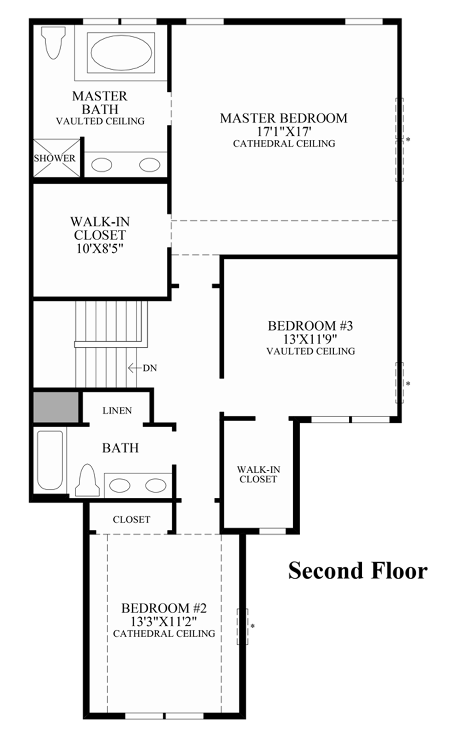 Ridgewood at middlebury the pentwater home design Make my own floor plan