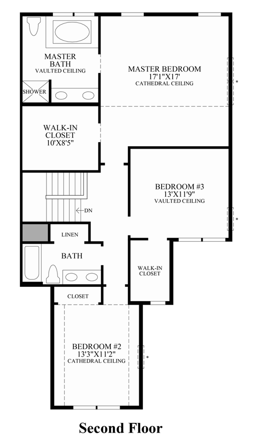 The summit at bethel the pentwater home design for Summit homes floor plans