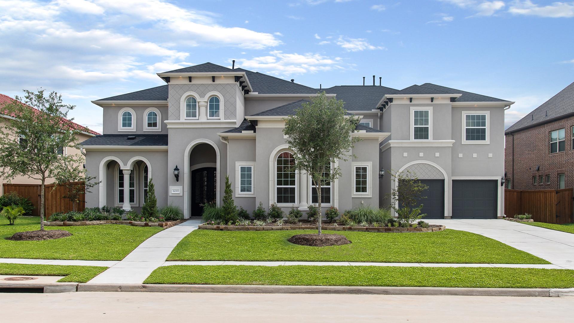 Beautiful stucco exterior