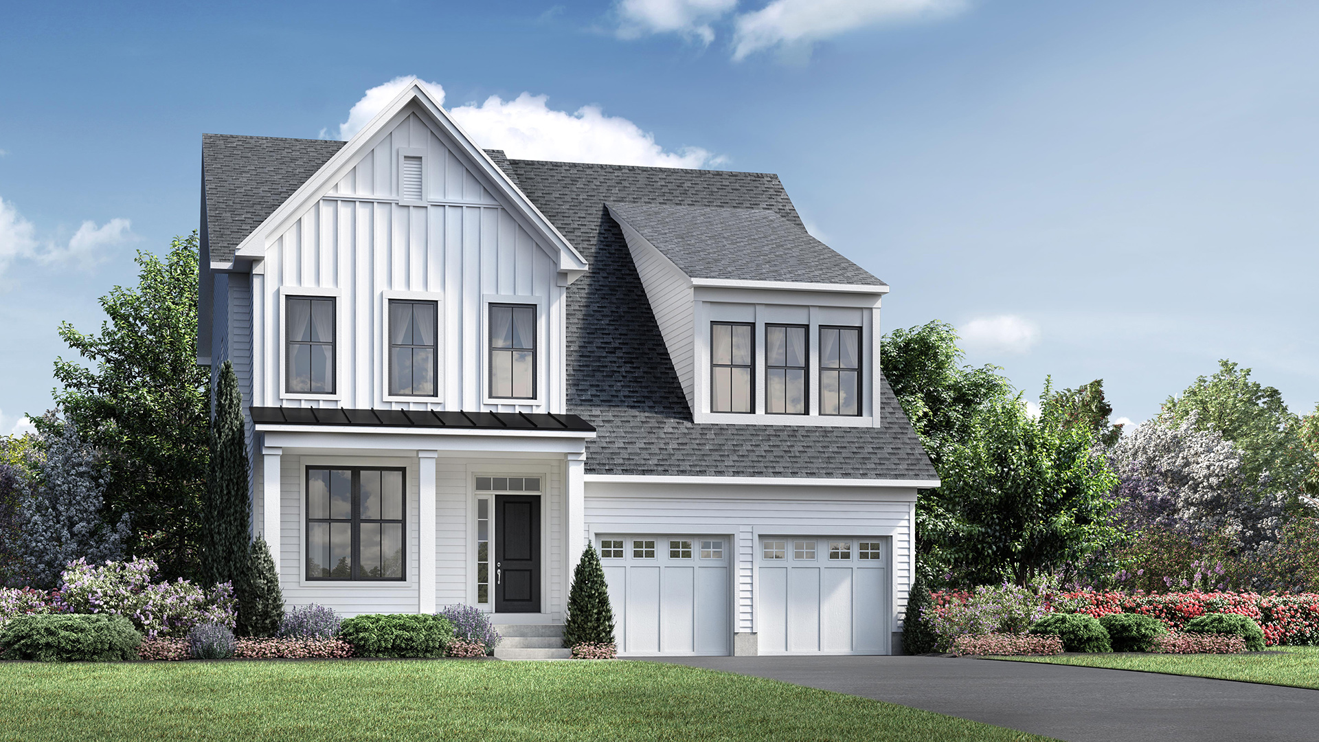 Enclave At Taunton Lake The Pine Hill Home Design