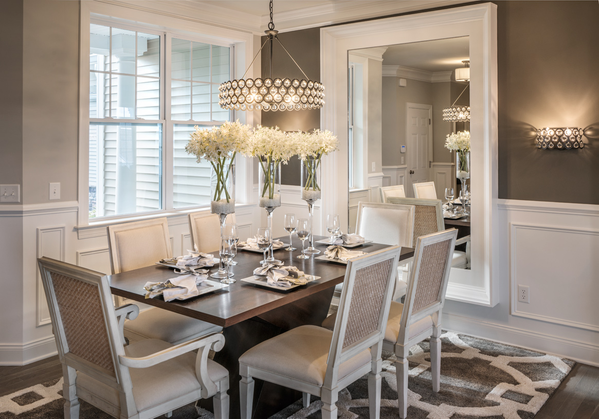 Casual dining open to great room