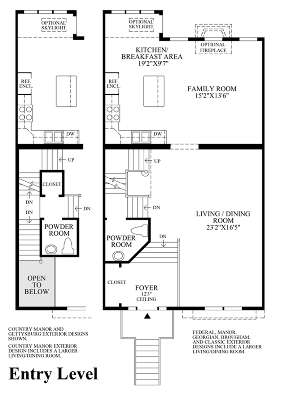 Living Level Floor Plan