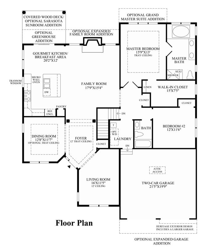 Prestwick - Floor Plan
