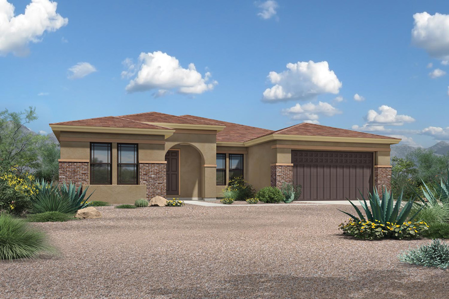Windgate ranch scottsdale desert willow collection the for Az house plans