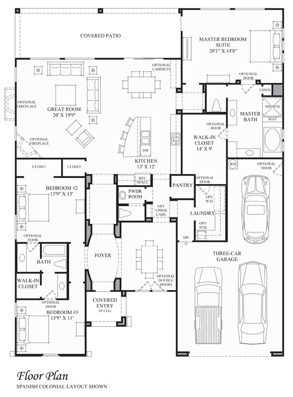 Prieta - Floor Plan