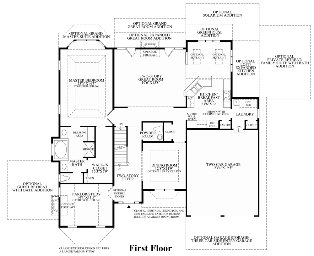 Dominion Homes Farmington Floor Plan