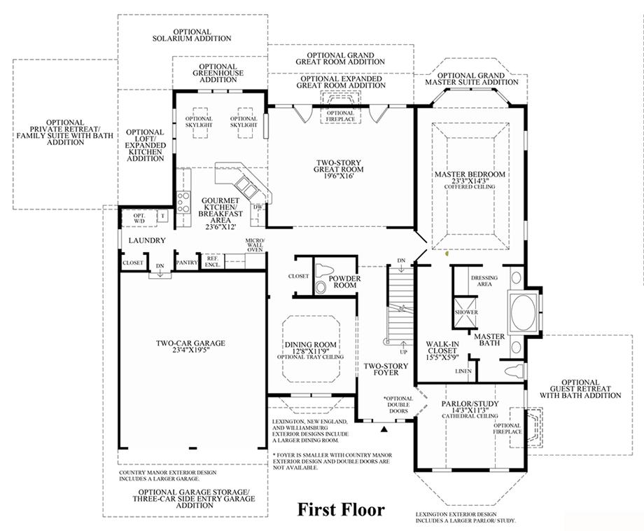 centex floor plans in 1998 autos post