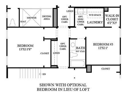 Optional Bedroom ILO Loft