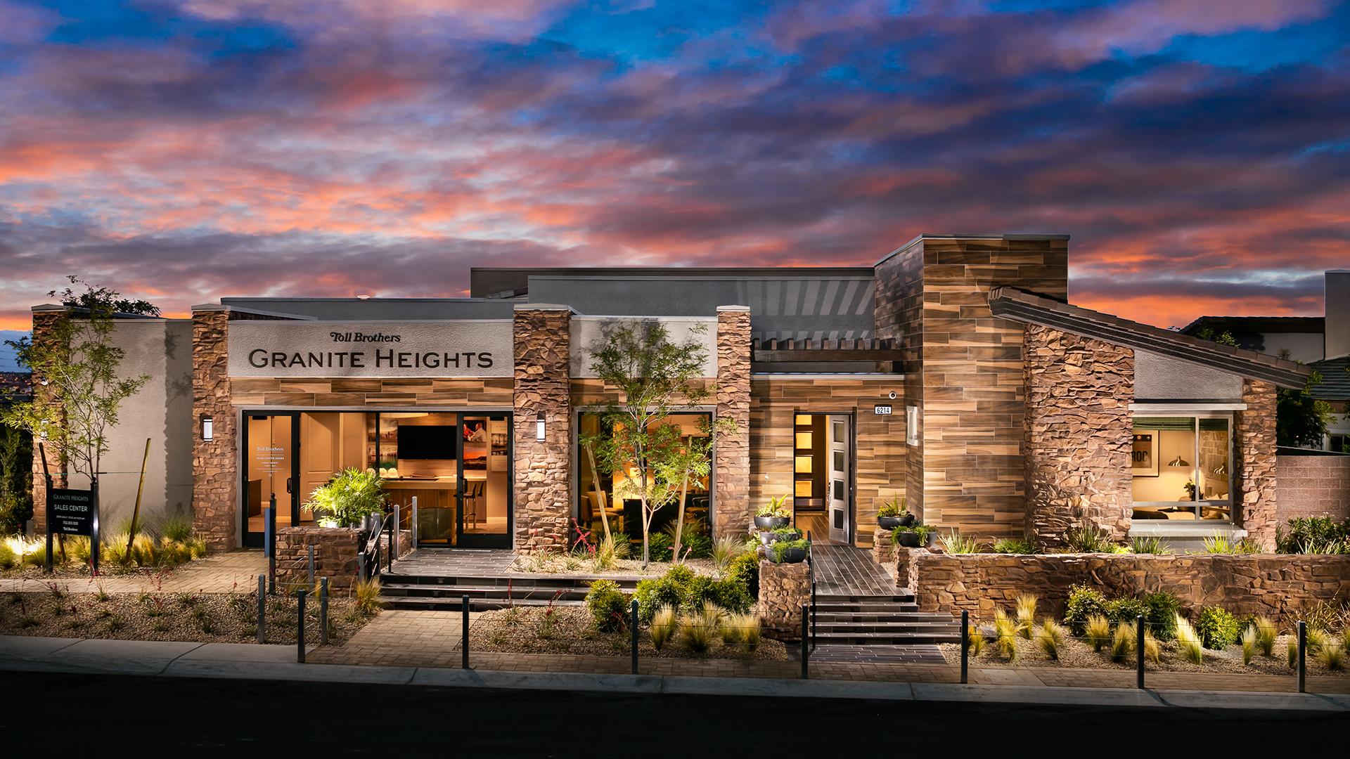 Quartz Decorated Model Granite Heights Granite Heights