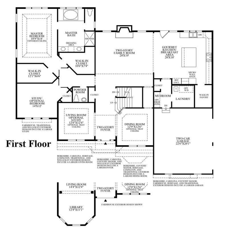 Raleigh II - 1st Floor