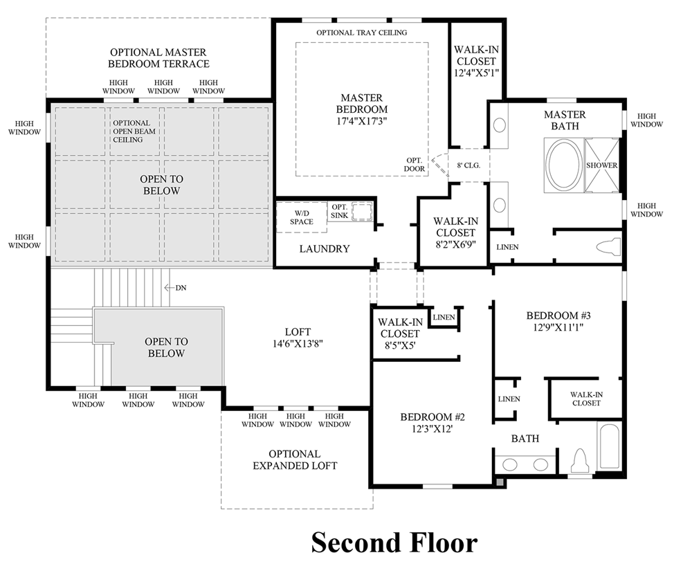 parker co new homes for sale the highlands at parker view floor plans