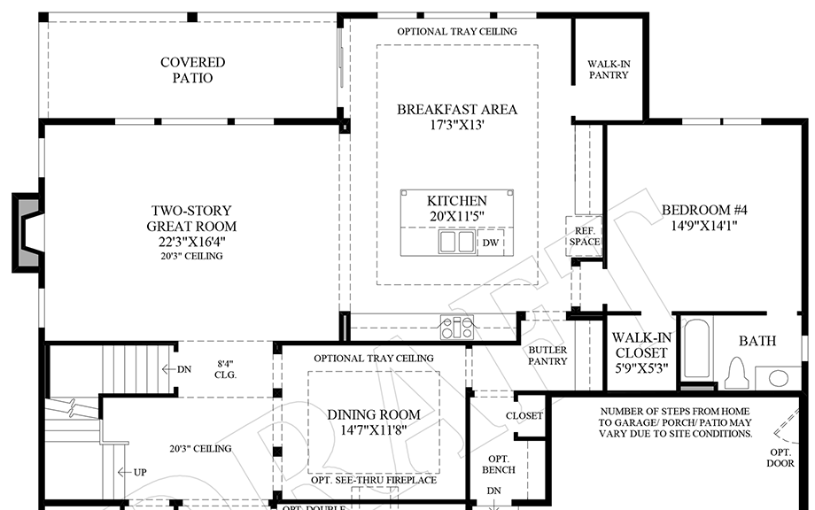 Butler Pantry Floor Plan