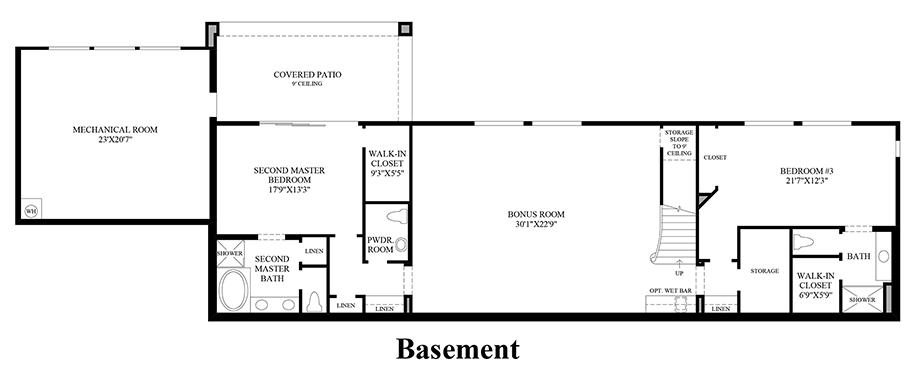 Boulders at somersett the ranier nv home design for Design your own basement floor plans