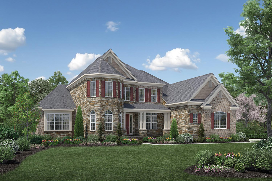 Northville mi new construction homes toll brothers at for New construction farmhouse