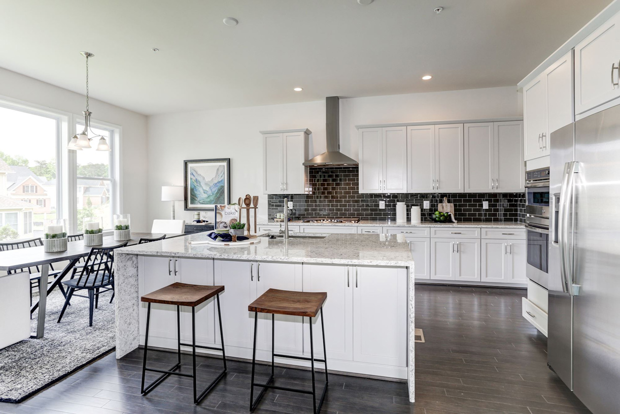 Well-appointed kitchen with granite countertops and an abundance of cabinets