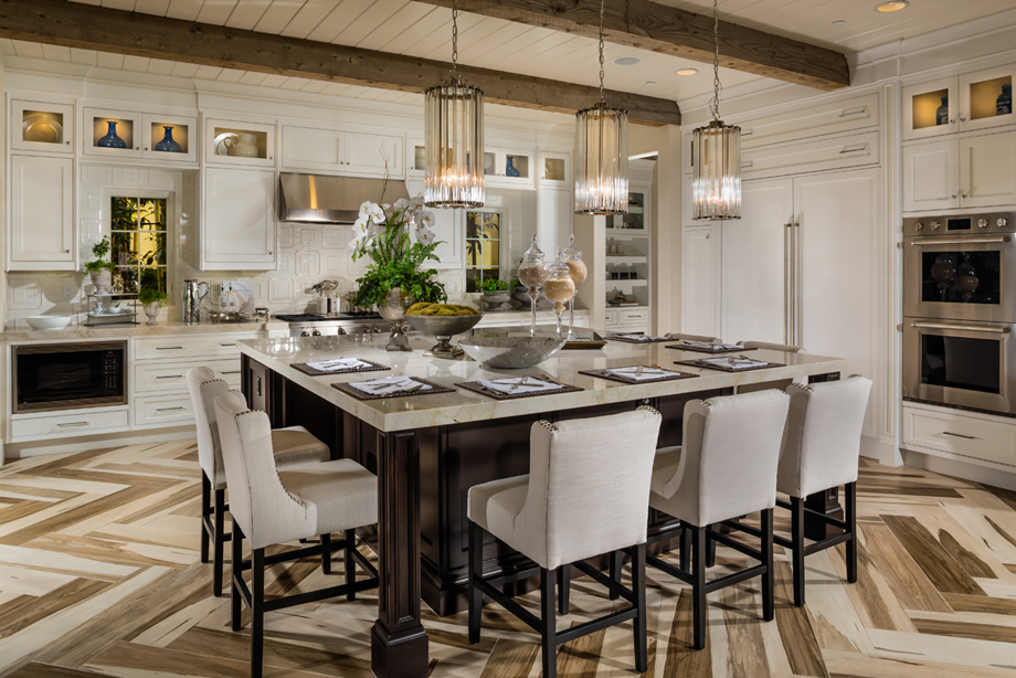Toll brothers at hidden canyon capri collection the for Kitchen in the canyon