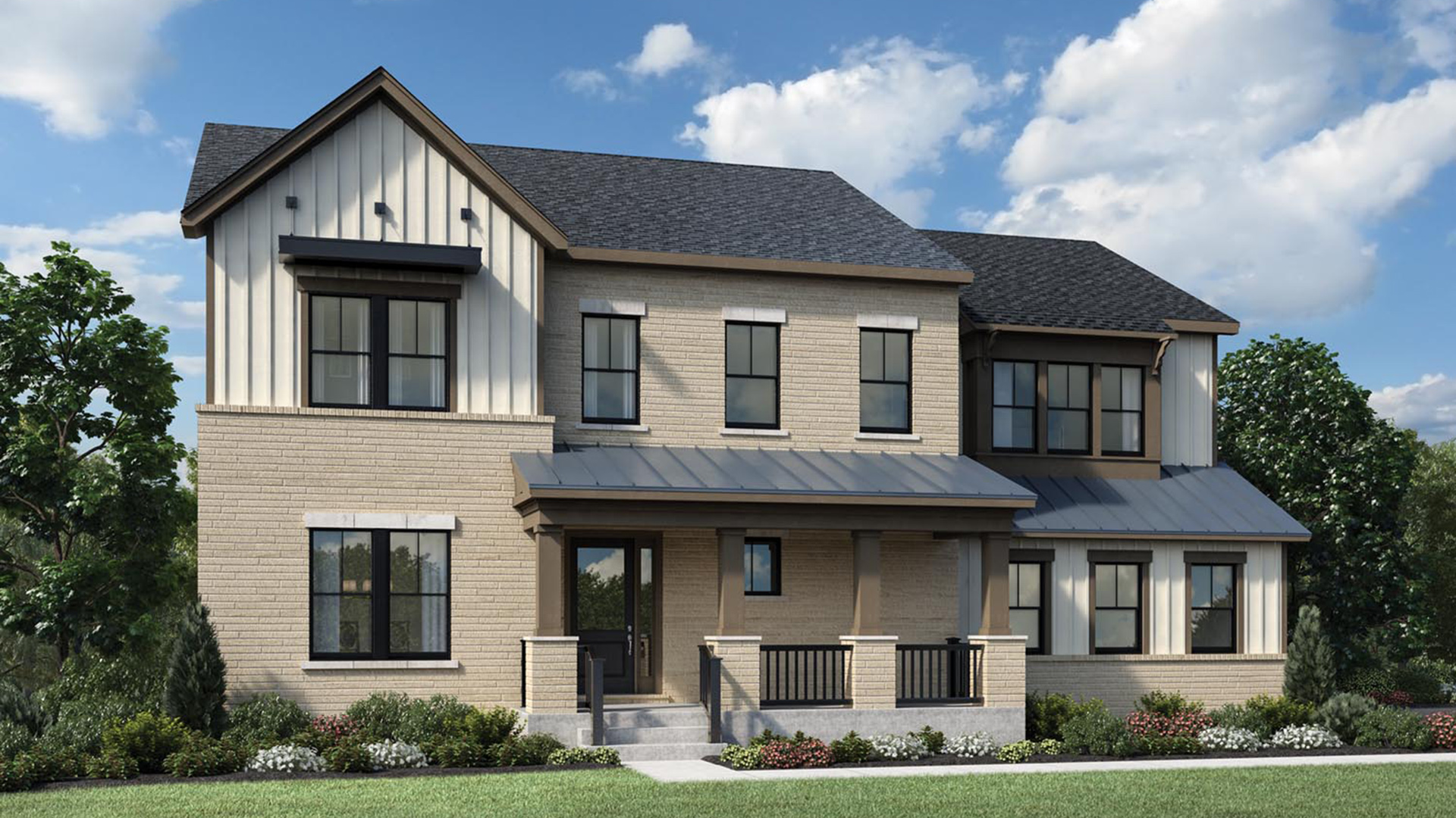 The Ridings at North Branch   The Reston Home Design