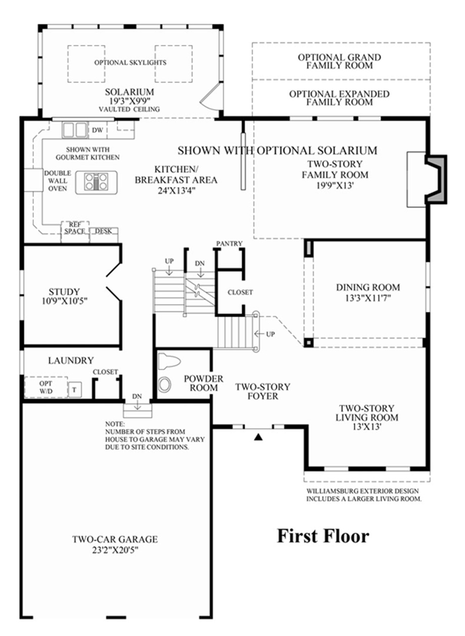 Toll brothers page not found for Richmond floor plan