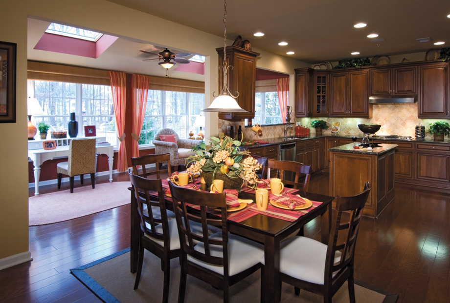 Monroe chase the richmond ii home design for Kitchen design 08831