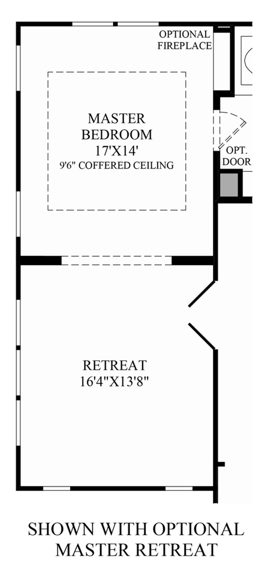 Highlands east at baker ranch the ridgecrest home design for Master retreat floor plans