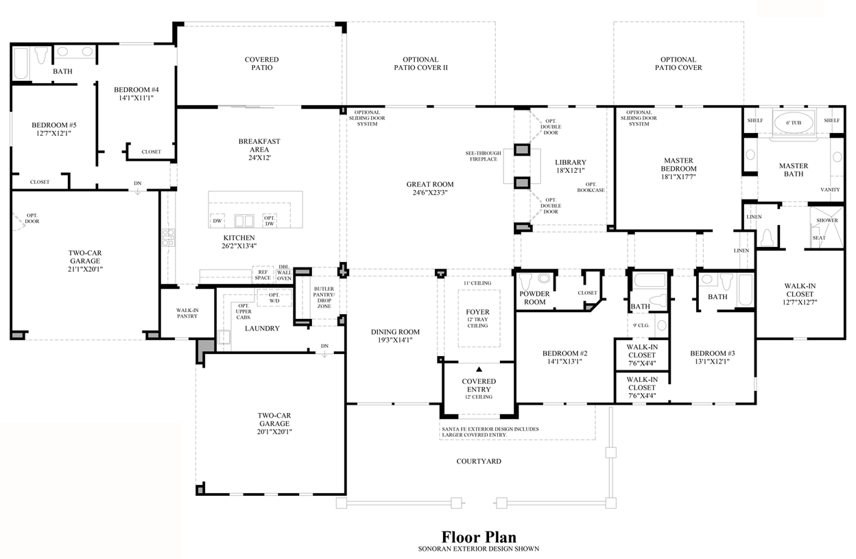 Ridgewood - Floor Plan