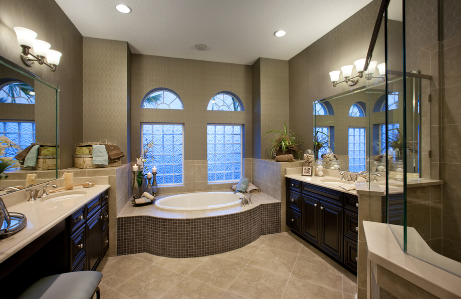 Coastal oaks at nocatee estate signature collections for Model bathrooms photos