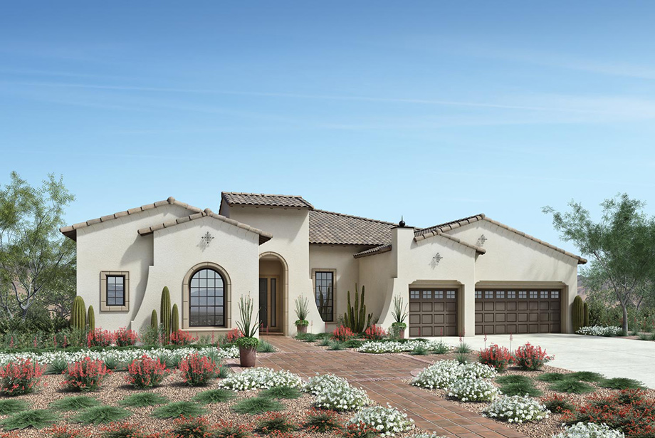 Toll Brothers At Verde River on Desert Home Floor Plans With Casita