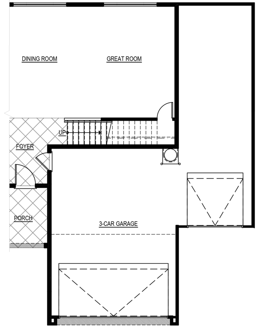 Optional 3 ft. Garage Increase Floor Plan