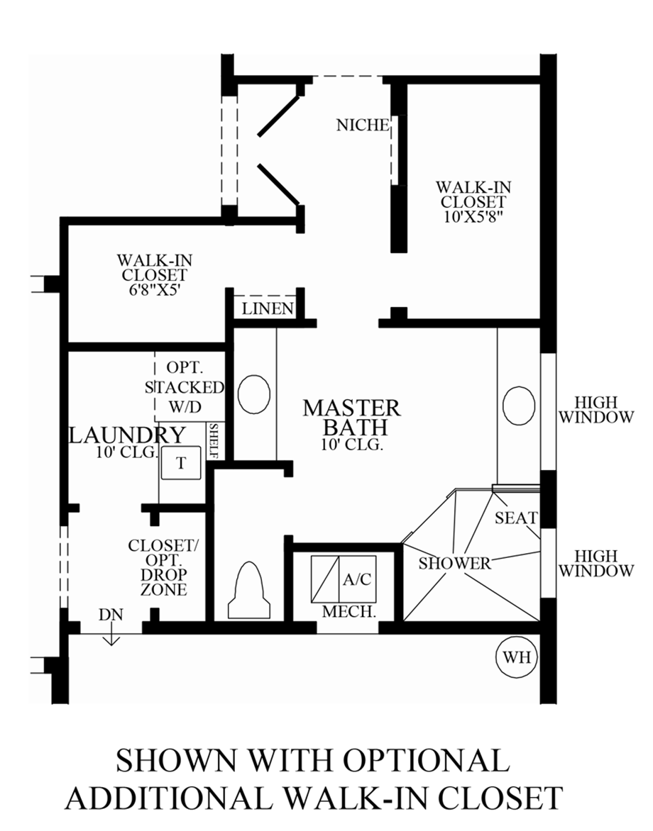 walk in closet floor plans royal cypress preserve the robellini home design 7043