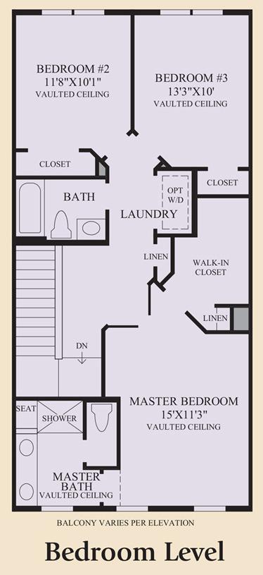 Rochelle - Bedroom Level