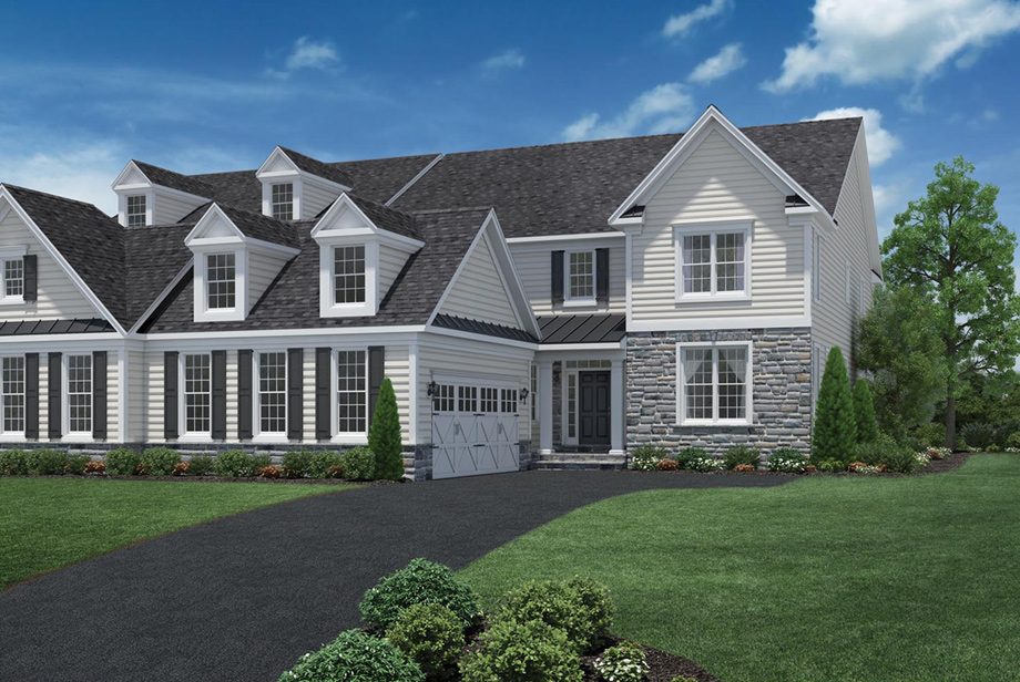 Liseter the st davids collection the heatherwood home for Newtown builders