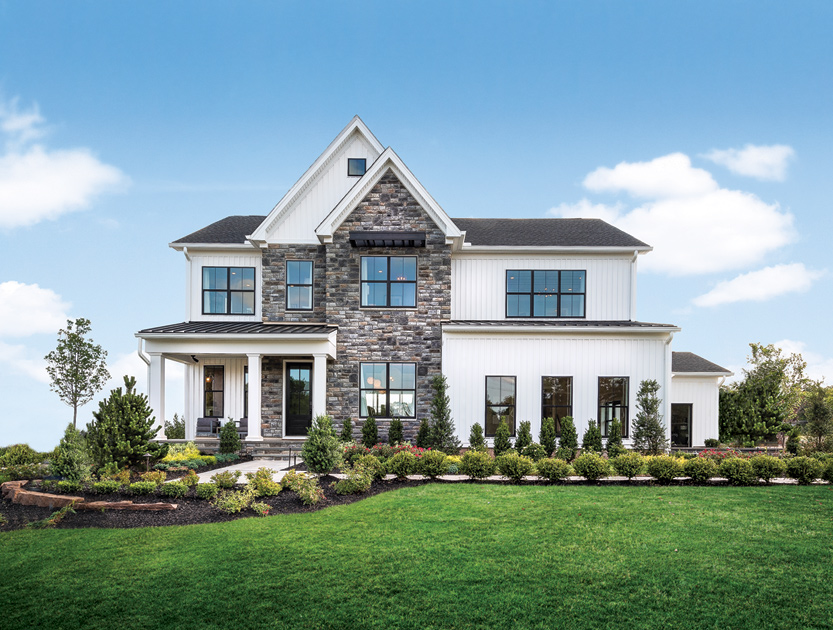 Toll Brothers - Reserve at Center Square - The Estates Collection Photo