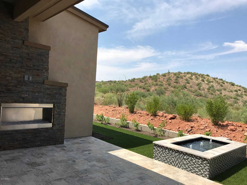 The overlook at firerock quick delivery home rushmore az for Firerock fireplaces