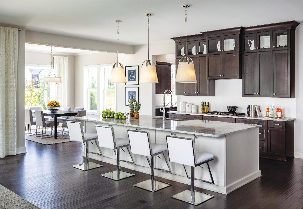 Rylan Kitchen and Casual Dining Area