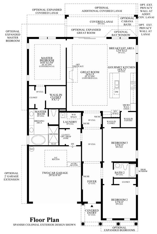Toll Brothers At Eagle Creek Estate Collection The Gardenia - View floor plans