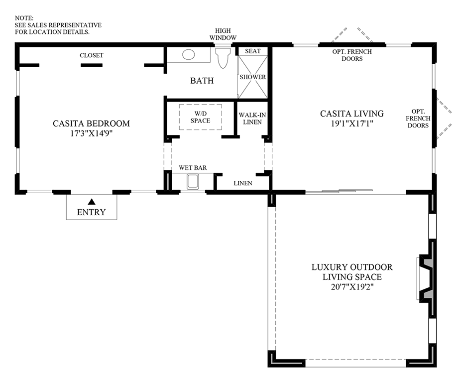 Casita Option 2 Floor Plan