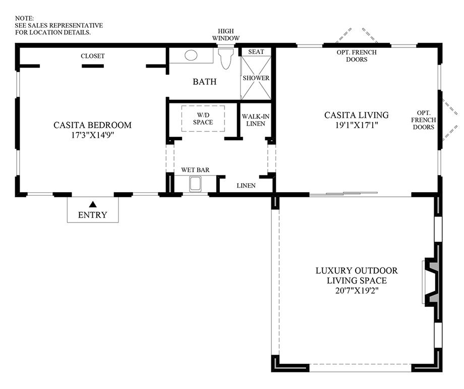 Casita Option 2 Floor Plan