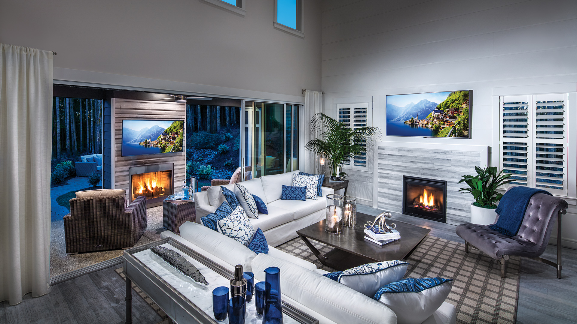 Bayview at Gig Harbor | The Sahalee Home Design on Seamless Indoor Outdoor Living id=80776